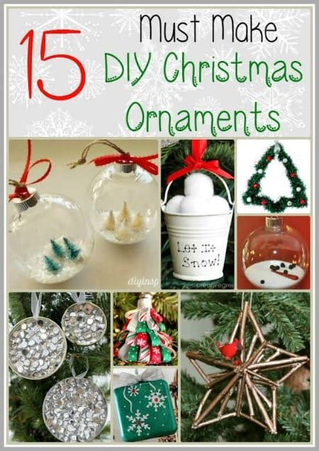 15 must have xmas gifts 15 must make diy ornaments centsable momma