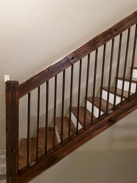 Stair Banister Ideas Bq by Rustic Utility Pole Cross Arms Reclaimed Into Stair
