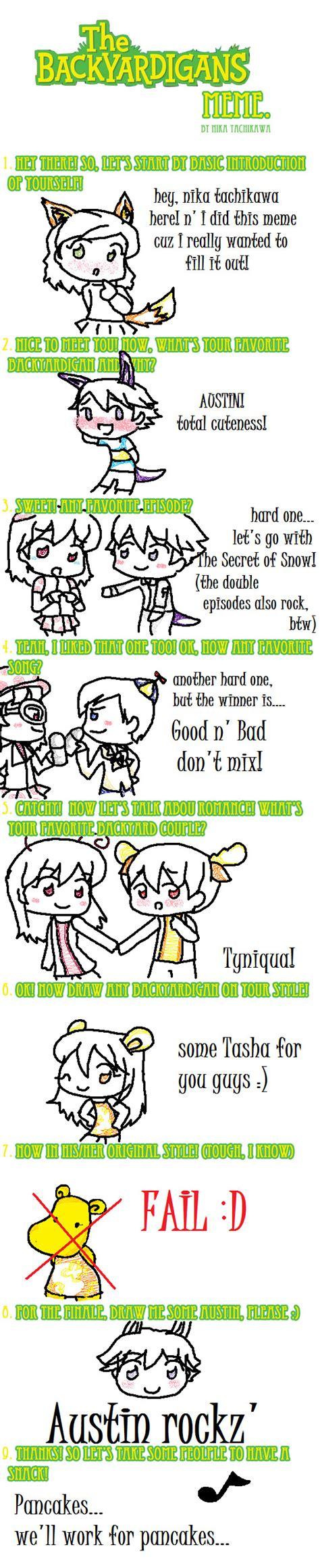 backyardigans meme filled by tachikawa on deviantart