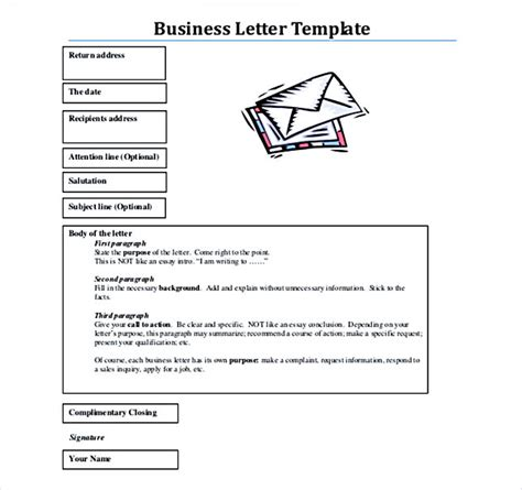 business letter closing options 38 business letter template options which format to use
