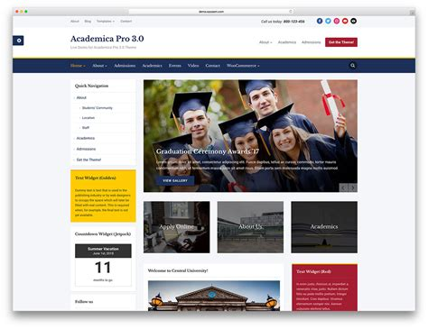 wordpress education themes download 32 awesome responsive wordpress education themes 2018