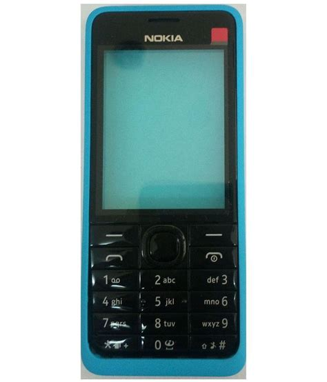 nokia housing for nokia asha 301 cyan mobile spare parts at low prices