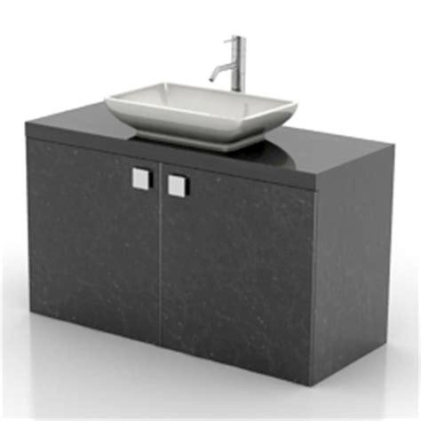 Kitchen Wash Basin Models Sanitary Ware 3d Models Wash Basin N180812 3d Model