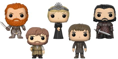 Funko Pop Set Of Thrones Battle Of The of thrones pop vinyl figures by funko actionfiguresdaily
