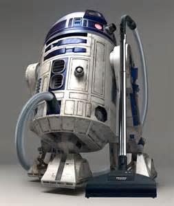 vaccume robot wars r2 d2 robot vacuum cleaner gadgetsin