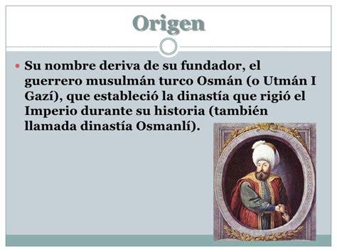 otomano que es el imperio otomano