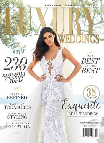 LUXURY WEDDINGS Magazine Subscription   isubscribe.com.au