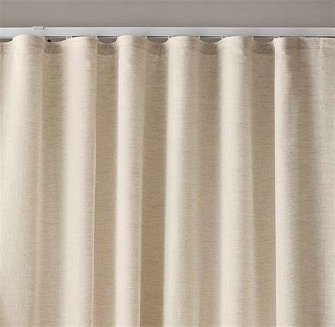 ripplefold drapes custom belgian sheer linen ripple fold drapery