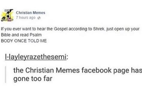 Christian Memes Facebook - 25 best memes about christian memes facebook christian