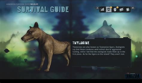 thylacine far cry wiki