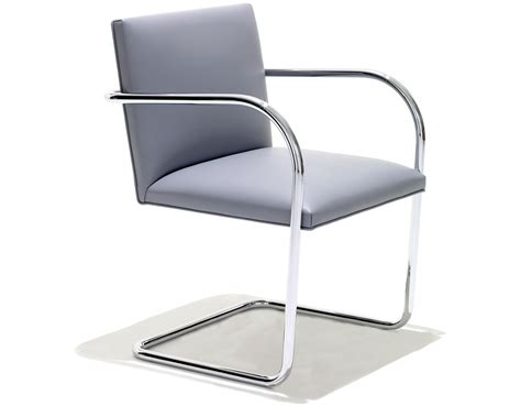 Prouve Chair Brno Chair With Tubular Steel Frame Hivemodern Com