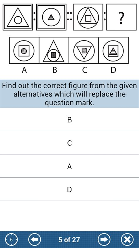 google pattern recognition test aptitude test android apps on google play