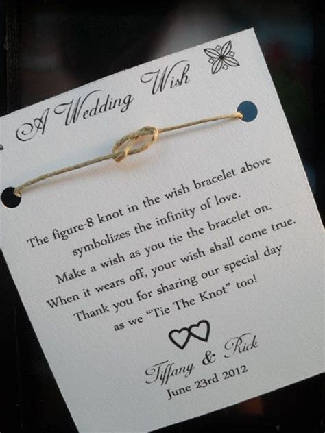 Wedding Wishes Tying The Knot by Wedding Favor Idea In Quot Tying The Knot Quot Alp