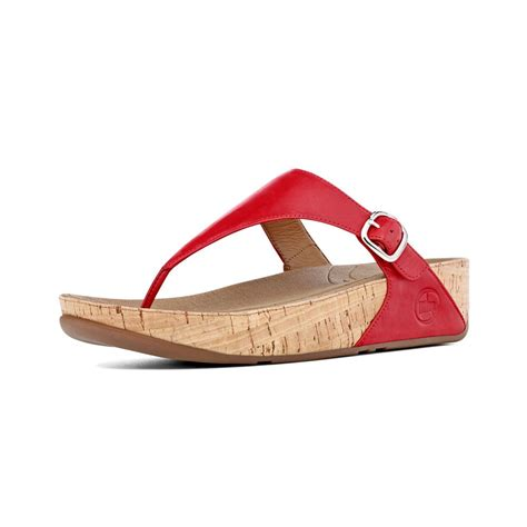 fitflop sandal fitflop fitflop the in ff leather with a cork