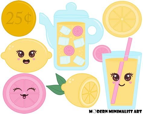 lemonade clipart lemonade clipart yellow and pink 7 png images from