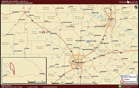 map of kerr county texas texas ranch for sale 293 acres ranch real estate in kerr county
