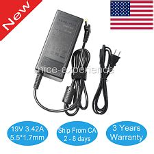Adaptor Acer Aspire One 19v 21158a Dc 55 X 17 acer notebook charger ebay