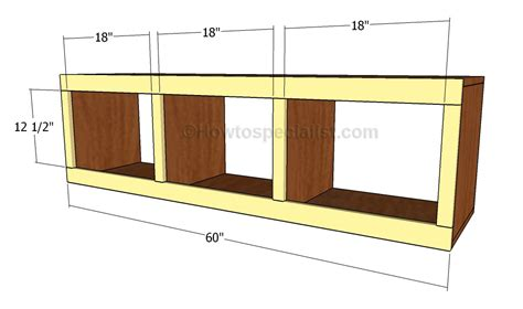 building a mudroom bench mudroom bench plans howtospecialist how to build step