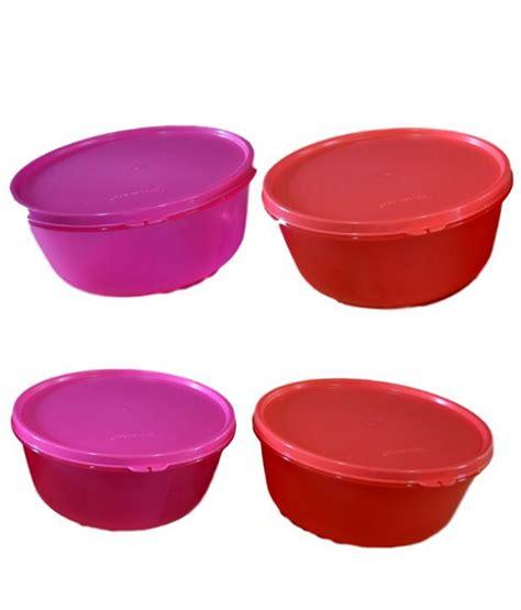 Tupperware Bowl 1 tupperware s s bowl 1 5litre set of 4 buy at