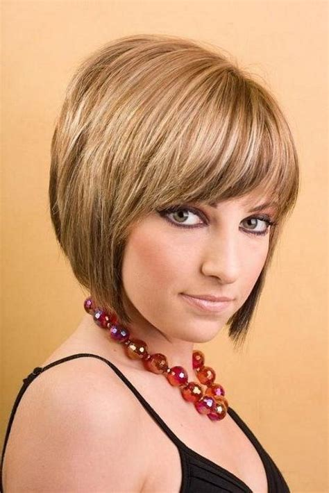 15 best inverted bob with bangs short hairstyles 2017 15 best collection of cute inverted bob hairstyles for