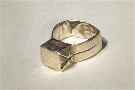 Origami Ring - catrett s silver origami ring