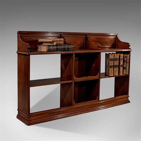 Antique Walnut Bookcase Display Shelves Antiques Atlas Display Bookshelves