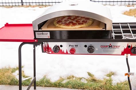 stovetop pizza cooker outdoor triple burner stove and artisan pizza oven