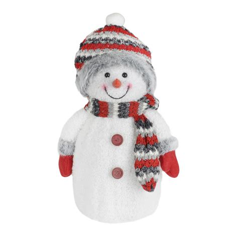 red grey light up snowman decoration novelty christmas 33