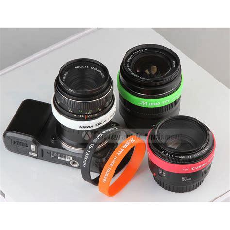 Jual Gelang Lensa Kamera by Gelang Silicone Untuk Lensa Kamera Dslr Black