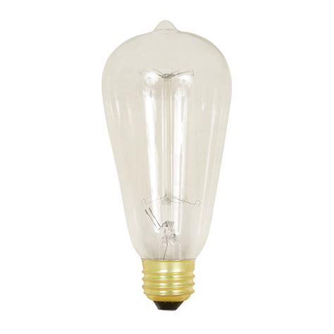 and white bulb lights shop feit electric 60 watt medium base white dimmable