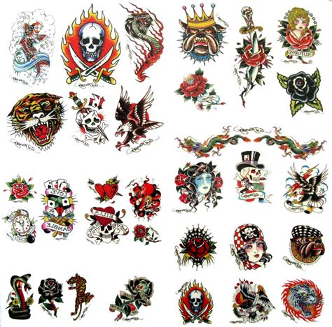 Ed Hardy Tattoos For Dogs by Ed Hardy Genuine Temporary Tattoos D 30 Tattoos