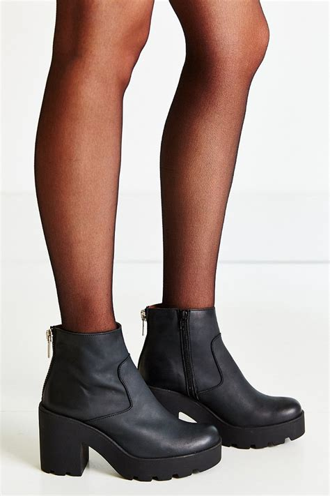 sixtyseven boots sixtyseven ankle boot in black lyst
