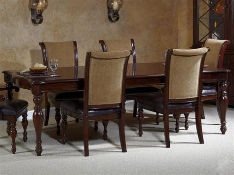 liberty furniture dining room sets dark wood dining room sets kingston plantation dining