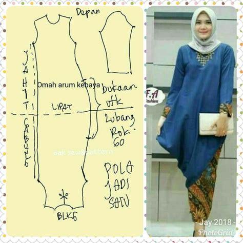 Baju Atasan Wanita Blouse Muslim Tunic Miranda Jumbo Tunik 329 best pola baju wanita images on muslim tunics and fashion