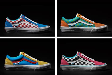 Sepatu Vans X Golf Wang golf wang x vans skool pack the drop date