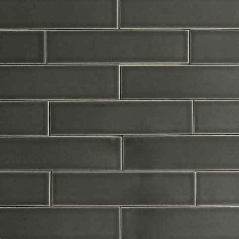 subway tiles colors modwalls usa made 2x8 ceramic subway tile in gray color