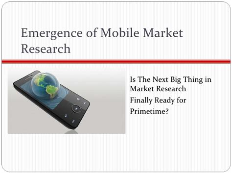 Of Mobile Mba by Mba 615 Mobile Market Research Mis Project