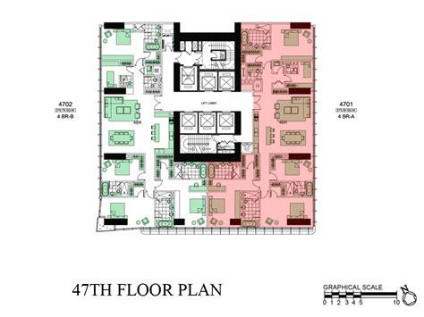 trump tower floor plans trump tower manila