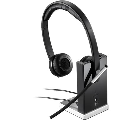 Headset Bluetooth Logitech logitech h820e wireless headset with up to 300 foot range