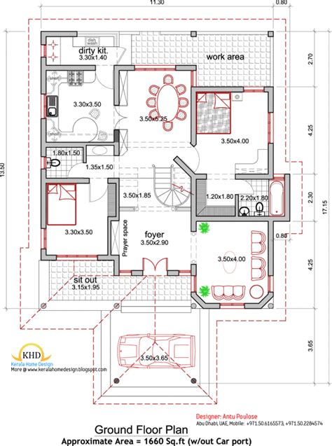 home design plan and elevation general best 29 pictures kerala architectural house