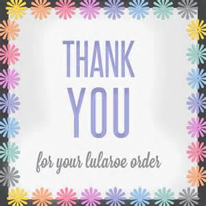 Thank You For Shopping With Us Template by Free Lularoe Images For Social Media Itw Visions