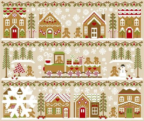 Country Cottage Needlework by Country Cottage Needleworks Gingerbread Part