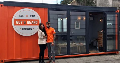 barber glasgow film savvy entrepreneur couple open up their own barber shop