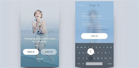 ui layout patterns ios design patterns top 12 mobile app ui design inspirations