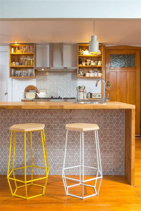 open kitchen bar counter and two bar stool design 25 stylish kitchen bar counters for open layouts digsdigs