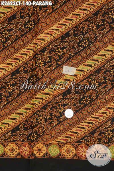 Batik Tulis Kombinasi Batik Cap batik parang halus dengan kombinasi bunga kain batik cap