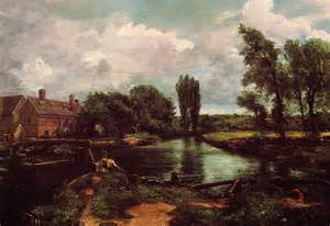 flatford mill from a lock on the stour 1811 john constable wikiart org