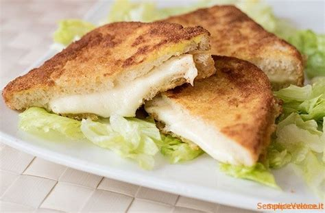 ricette mozzarella in carrozza mozzarella in carrozza ricetta secondo piatto semplice e