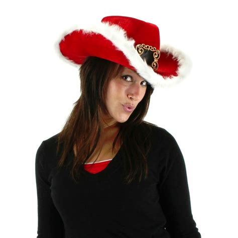 elope christmas cowboy hat all