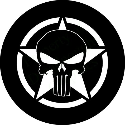 jeep punisher wallpaper punisher skull on jeep spare tire cover
